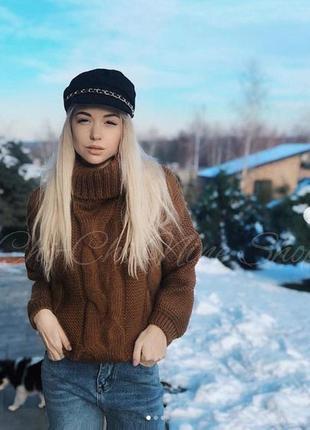 Свитер зима теплый красивый zara