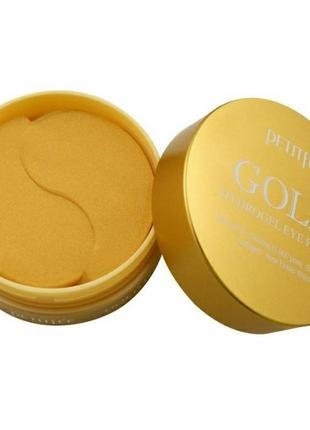 Гидрогелевые патчи с золотым комплексном petifee gold hydrogel eye pat