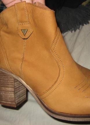 Сапоги ботинки туфли на каблуке piure оригинал кожа нубук размер 39.5 по стельке 25