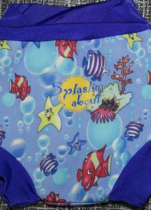 Splashabout неопрен small плавки подгузник в бассейн-море рыбки