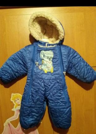 Комбинезон дитячий зимовий1 фото