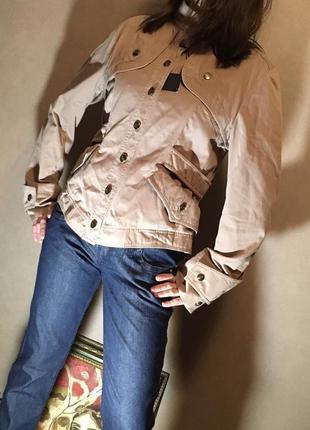 Классная весенняя куртка цвета чайной розы.