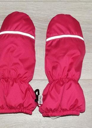 Теплые краги-варешки для снежной и холодной зимы