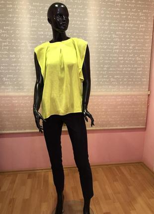 Яркая и нарядная и стильная блуза, размер 48