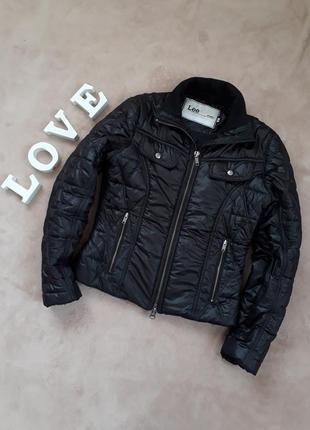 Тёплая куртка косуха от lee p.s-m