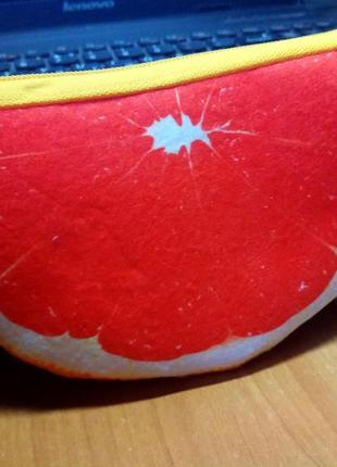 Новинка! кошелек грейка грейпфрут мягкий приятный на ощупь