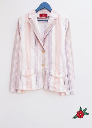 Нежный блейзер пиджак жакет легкий кардиган большой размер блейзер с карманами