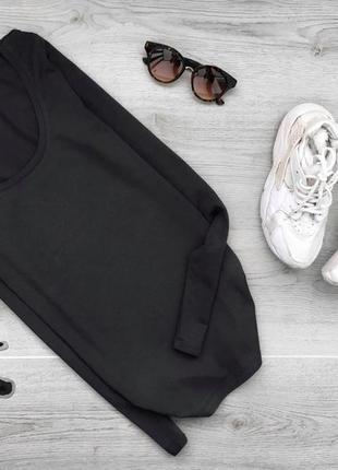 Базовая кофта/джемпер темно серого цвета vila