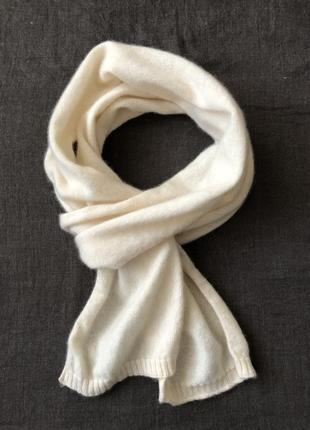 Кашемировый шарфик. 19*165. кашемир 100%