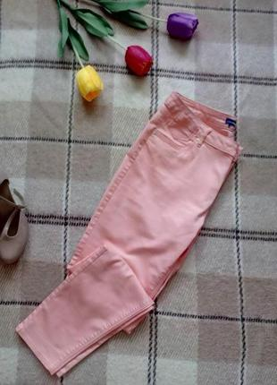 Красивые повседневные брюки оттенка цветущей сакуры от charles voegele