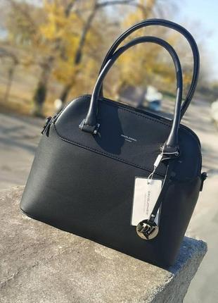 Женская удобная маленькая сумка, черного цвета