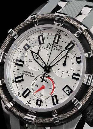 Invicta bolt 6434 наручные швейцарские часы хронограф