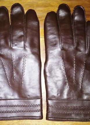 Мужские перчатки, кожзам