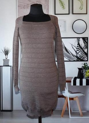 Платье мини трикотажное enzoria paris