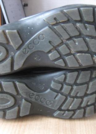 Ботинки ecco зимние на мембране gore-tex 35 размер5