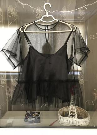 Воздушная футболка трансформер