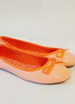 Отличные легенькие балетки/туфли на низком ходу