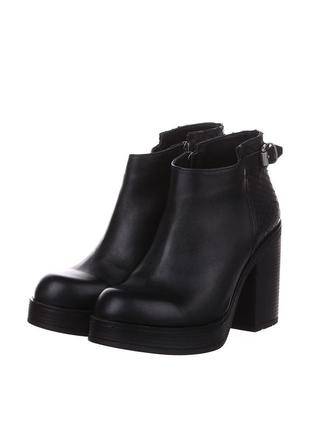 Ботинки на платформе, натуральная кожа tucino