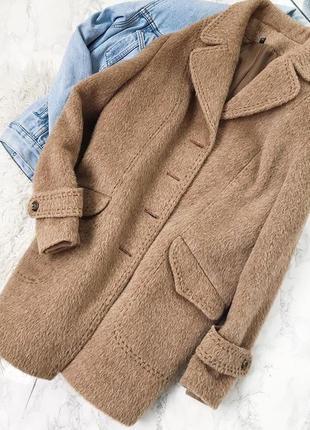 Роскошное зимнее пальто альпака, 100% шерсть ламы 🦙 размер m l