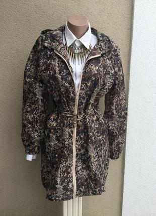 Плащ,тренч,дождевик,куртка,ветровка с капюшоном,парка в принт,store twenty one