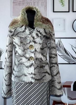 Жакет-куртка мелковорсовый kivenst high fashion