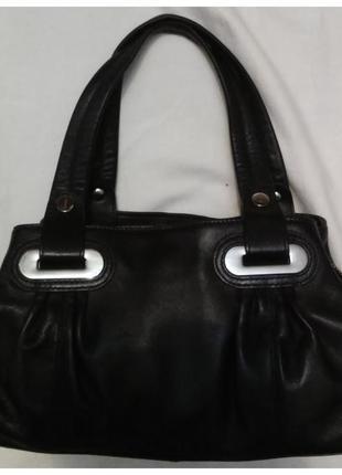 Кожаная сумка jasper conran (кожа натуральная)
