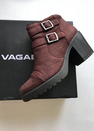 Vagabond, зимние ботинки полусапоги на среднем каблуке