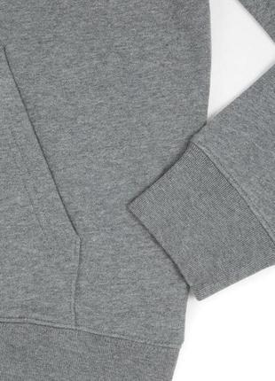Классический серый меланжевый худи размер 14