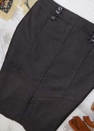 Элегантная офисная юбка