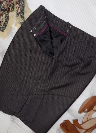 Статусная  офисная юбка карандаш.. качество!♡4 фото
