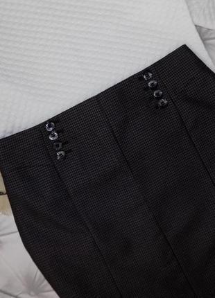 Статусная  офисная юбка карандаш