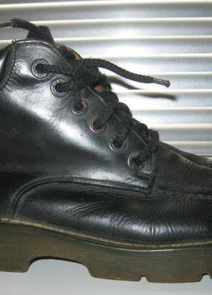 - оригинал кожаные ботинки - dr.martens - england \ 40 -