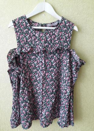 Блуза женская с отерытыми плечами