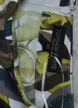 Юбка -шорты с лимоном topshop4