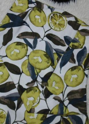Юбка -шорты с лимоном topshop3