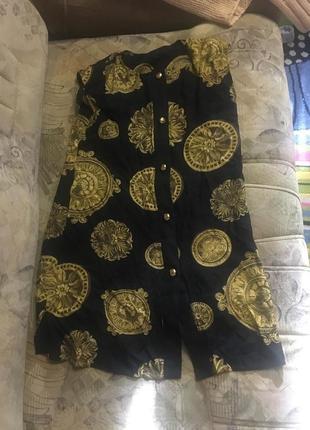 Смелое платье в стиле d&g