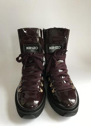 Новые зимние ботинки kenzo alaska boots  оригинал