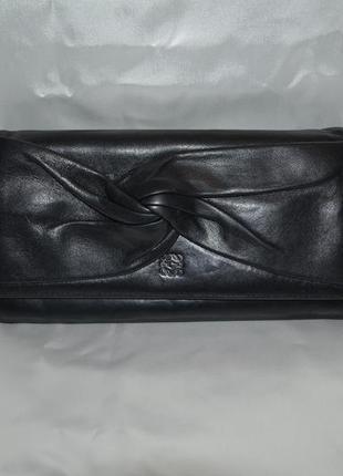 Кожаный кошелек loewe, оригинал