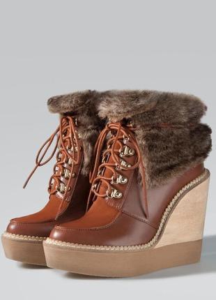 Крутые ботинки stradivarius  36, 37