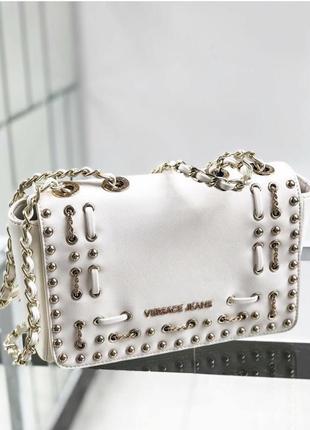Шикарная стильная сумка versace jeans. оригинал!