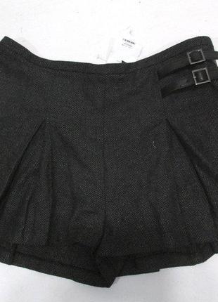 Новая с биркой теплая юбка - шорты шерсть