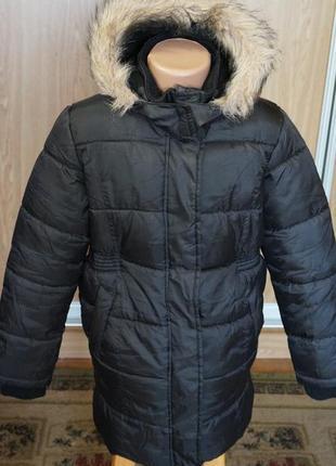 Классное,теплое пальто