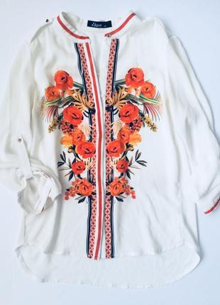 Блузка (вышивка)