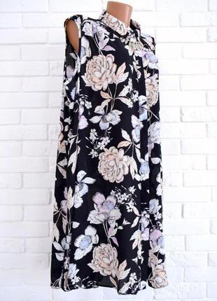 Стильная удлиненная блуза туника без рукав k&d uk24 в идеальном состоянии