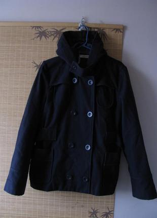 Шерстяное полупальто, куртка see by chloe