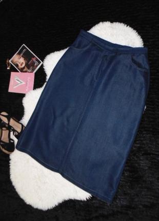 Джинсовая юбка 18 размера