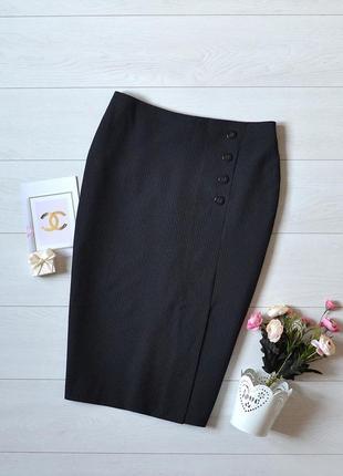 Стильна юбка карандаш в полоску m&s.
