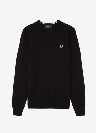 Fred perry мериносовый свитер