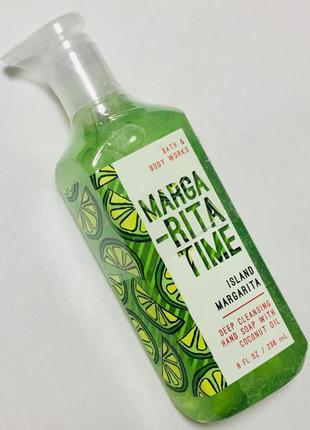 "Мыло для рук deep cleansing с ароматом свежего лайма ""margarita time"", оригинал сша"