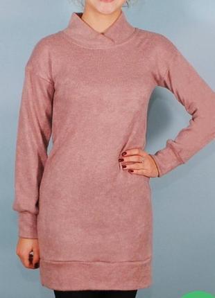 Супер тёплое платье/туника